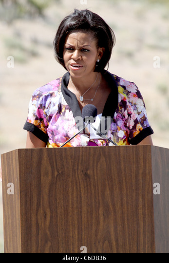 First Lady Michelle Obama Launches Interactive 'Let's Move' Map