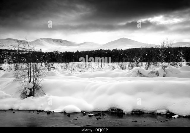 Taken of the Cairngorms Mountain Range - Stock-Bilder