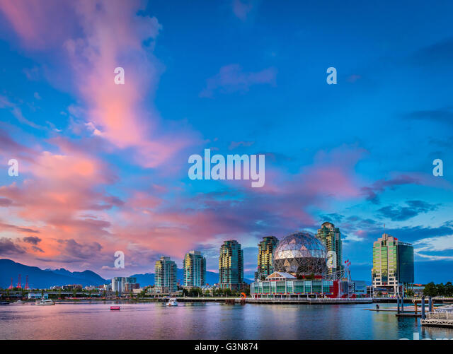 Science World at Telus World of Science, Vancouver - Stock Image