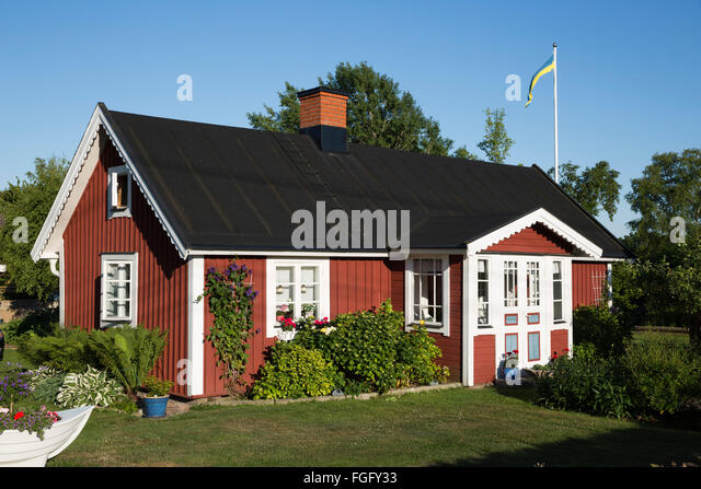 Swedish Red House Stock Photos & Swedish Red House Stock ...