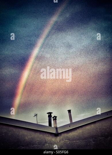 Rainbow - Stock Image