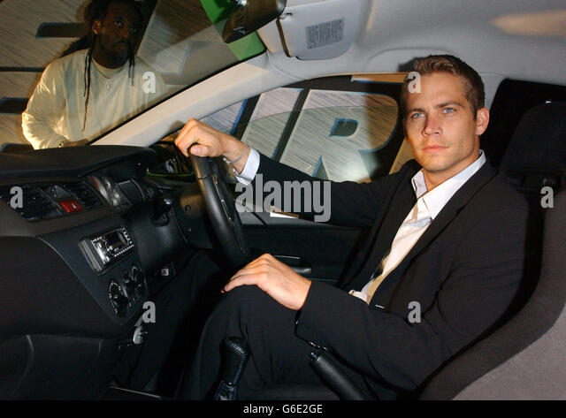 Paul Walker 2 Fast 2 Furious party - Stock Image