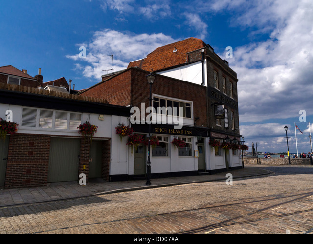 The Spice Island Inn, Portsmouth, Hampshire - Stock Image