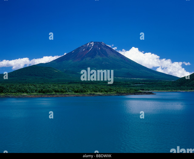 Mt.Fuji And Lake - Stock Image