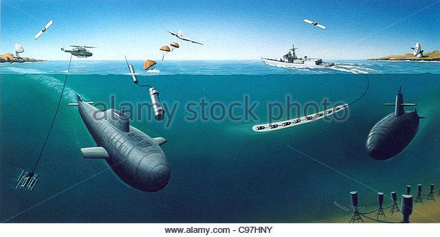 Weapons against u-boats - Stock-Bilder