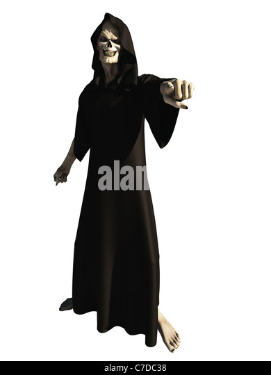 The Grim Reaper Wants You - Stock Image