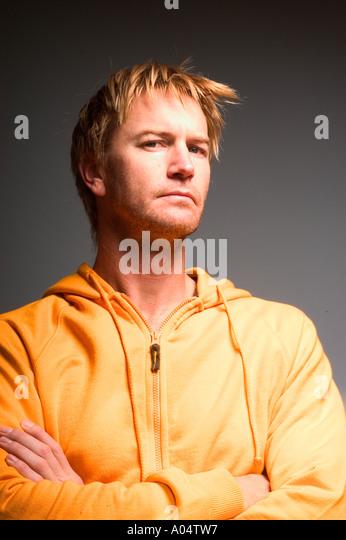Portrait of a man. - Stock Image