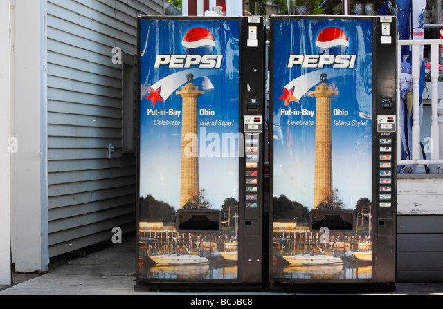pepsi bottle vending machine