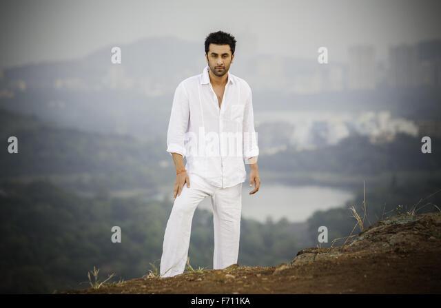 Indian bollywood films actor ranbir kapoor, india, asia - Stock Image