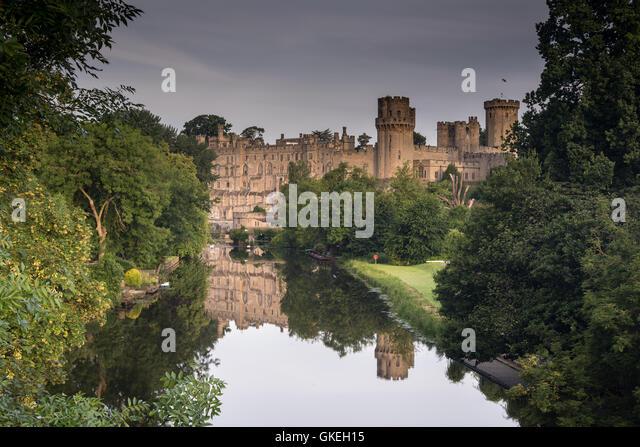 Warwick, Castle - Stock Image