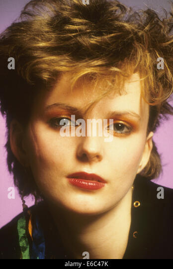 ALTERED IMAGES Promotional photo of singer  Claire Grogan about 1982 - Stock Image