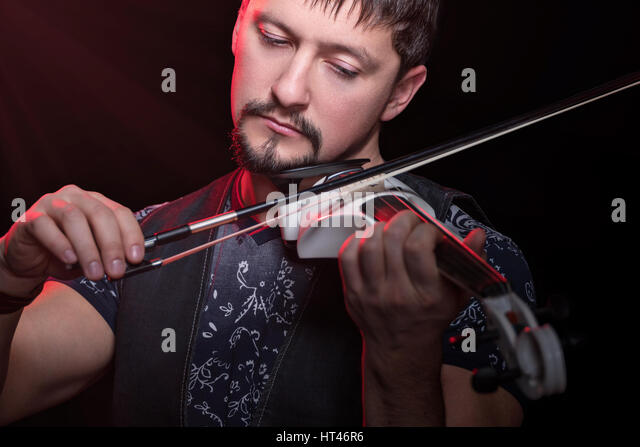 Beautiful Violin On White Background - 37.3KB