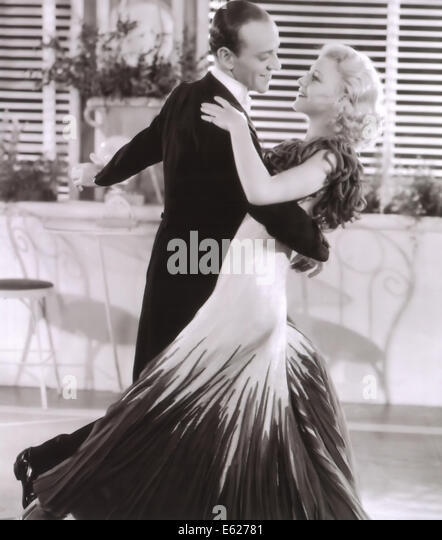 THE GAY DIVORCEE - Fred Astaire, Ginger Rogers - Directed by Mark Sandrich - RKO 1934 - Stock Image