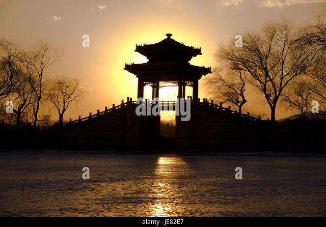 Beijing, Beijing, China. 23rd June, 2017. Beijingg, CHINA-Jan 1 2013: (EDITORIAL USE ONLY. CHINA OUT)The 17-Arch - Stock Image