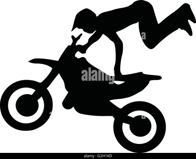 motocross silhouette stock photos amp motocross silhouette