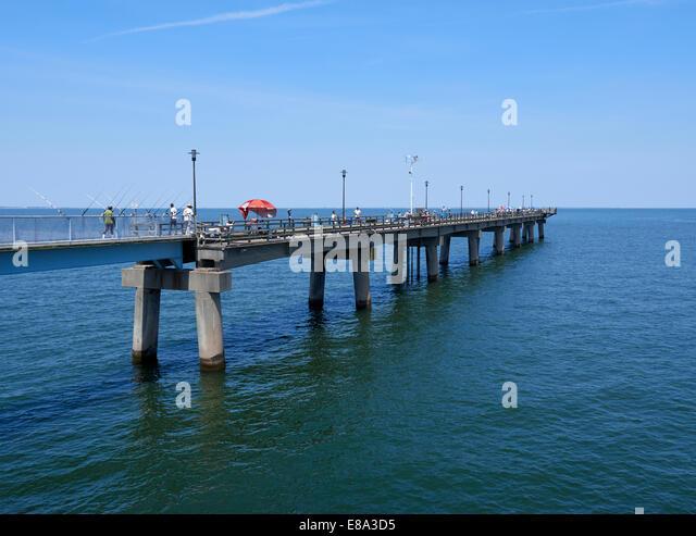 Chesapeake bay bridge stock photos chesapeake bay bridge for Chesapeake bay fishing
