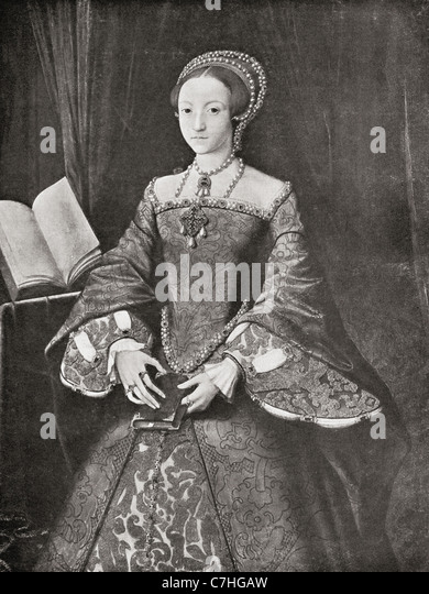Elizabeth I, 1533 ? 1603. Queen regnant of England and Ireland. From Bibby's Annual published 1910. - Stock-Bilder