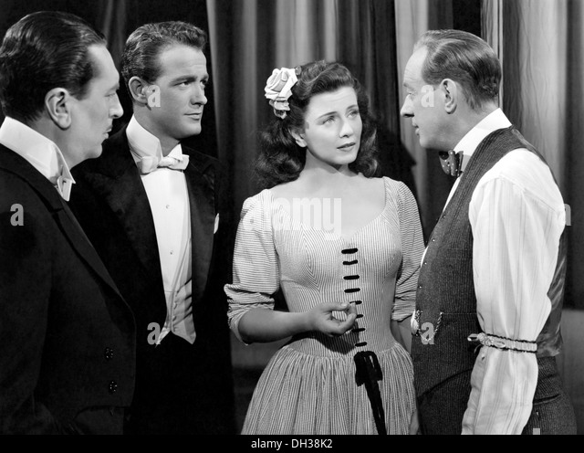 I WONDER WHO'S KISSING HER NOW 1947) MARK STEVENS, LLOYD BACON DIR), IWKN 003 MOVIESTORE COLLECTION LTD - Stock Image