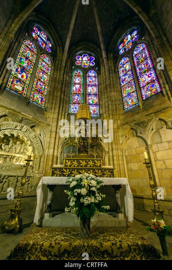 Pilgrimage spain stock photos pilgrimage spain stock - Interior santiago de compostela ...