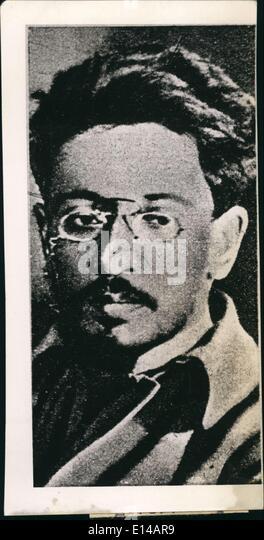 Apr. 17, 2012 - Photo shows Swerdlow, one of the leading of the Soviet Russian ''Bolsheviki'' . - Stock-Bilder