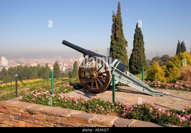 Pretoria City Canon - Stock Image