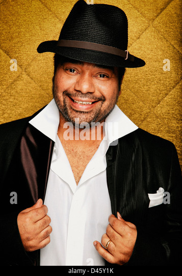 paulo flores angolan celebrity singer - Stock Image
