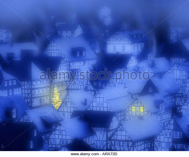 DE - NORTH RHINE WESTPHALIA: Freudenberg at Christmas - Stock Image