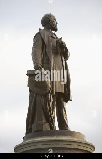 James A. Garfield Monument, Washington DC, USA - Stock Image