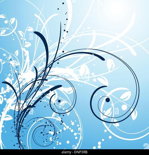 Decorative winter background - Stock-Bilder