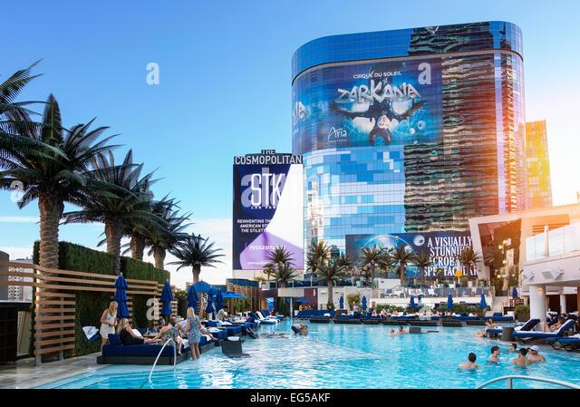 Hotel at Las Vegas - Stock Image