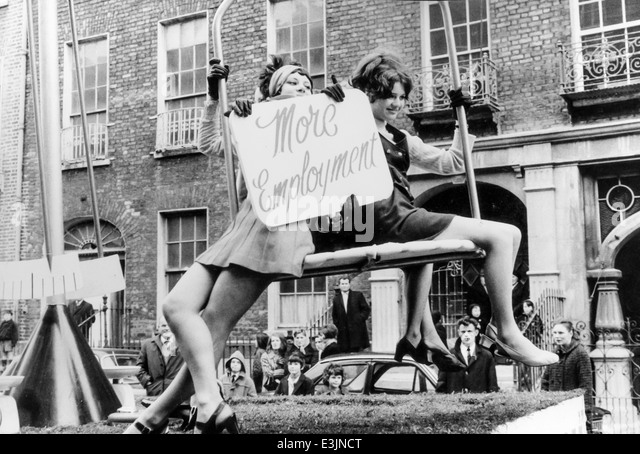 ireland limerick st.patrick day parade,60's - Stock Image