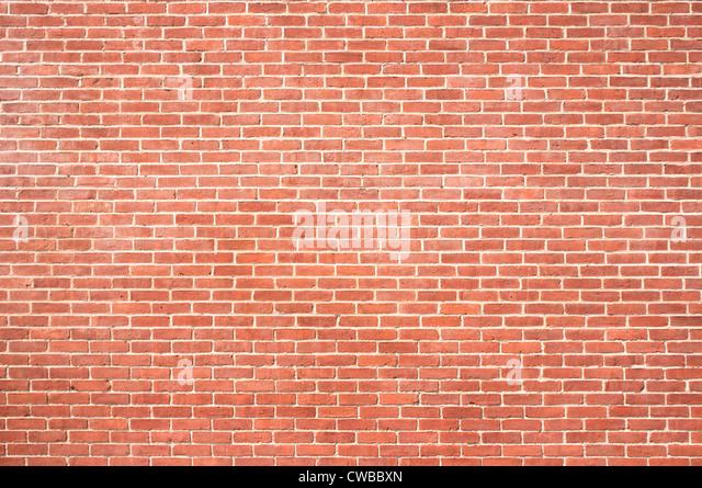 Brand new brick background - Stock Image