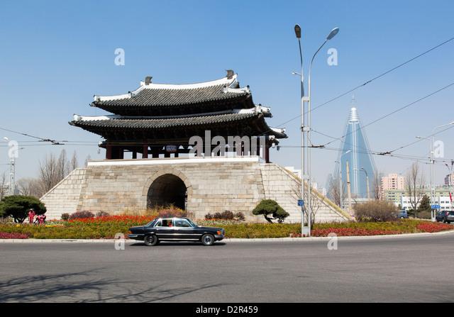 Pyongyang, Democratic People's Republic of Korea (DPRK), North Korea, Asia - Stock-Bilder