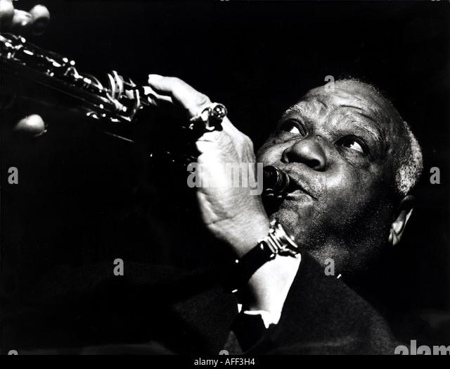 SIDNEY BECHET US jazz musician - Stock Image