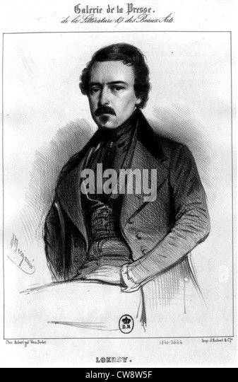 Joseph Philippe Simon Lockroy, actor - Stock-Bilder