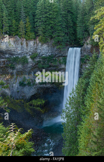 Brandywine Falls, Wasserfall, Brandywine Falls Provincial Park, British Columbia, Kanada, Nordamerika - Stock Image