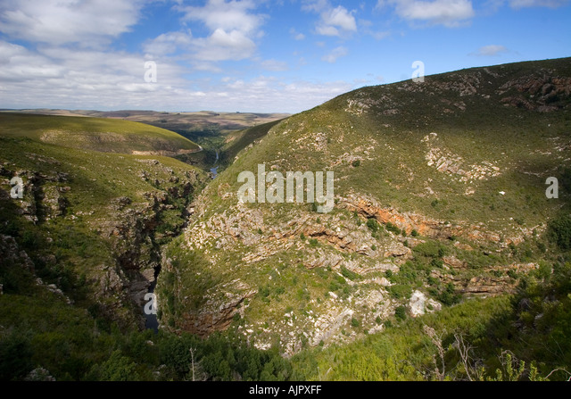 south africa Littel Karoo landscape - Stock Image