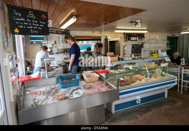 Fresh fish counter stock photos fresh fish counter stock for Fresh fish shop near me