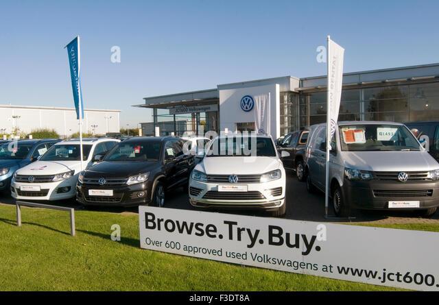Volkswagen dealer with cars stock photos volkswagen dealer with cars stock images alamy