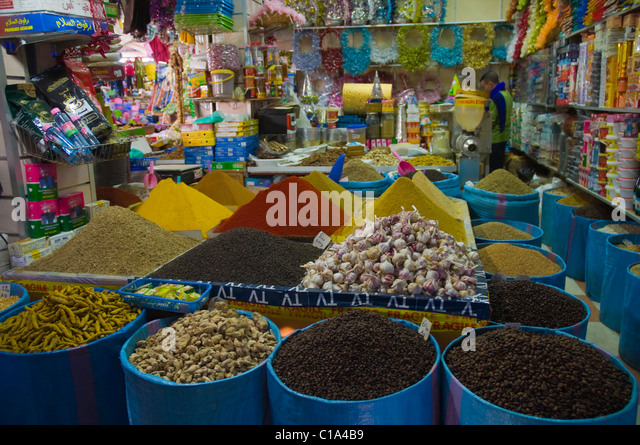 Spices in grocery store stock photos spices in grocery for Agadir moroccan cuisine aventura fl