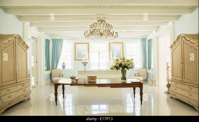 Luxury foyer - Stock Image