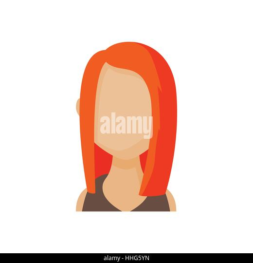 redhead avatars or icons