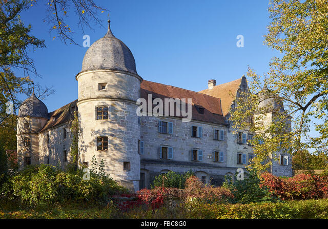 Castle Mitwitz, Bavaria, Germany - Stock Image