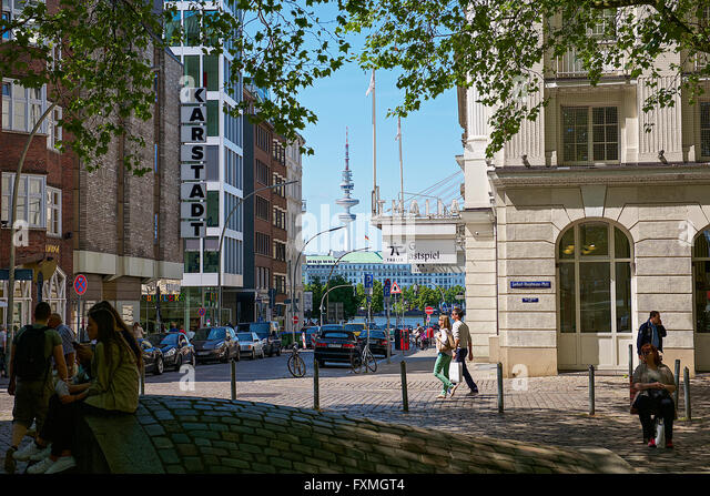 shopping district europe stock photos shopping district europe stock images alamy. Black Bedroom Furniture Sets. Home Design Ideas