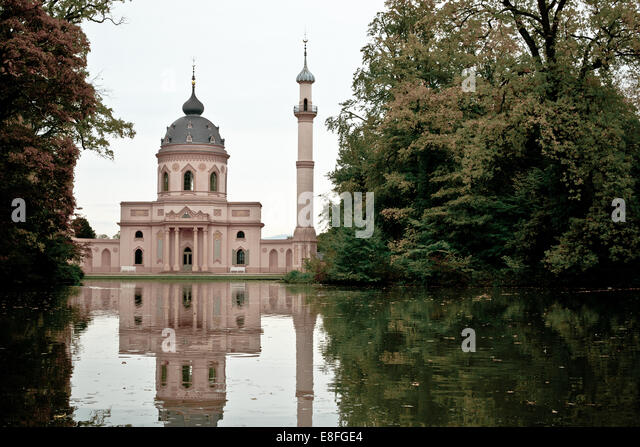 Germany, Schwetzingen Mosque - Stock Image