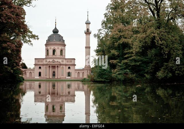 Schwetzingen Mosque, Germany - Stock Image