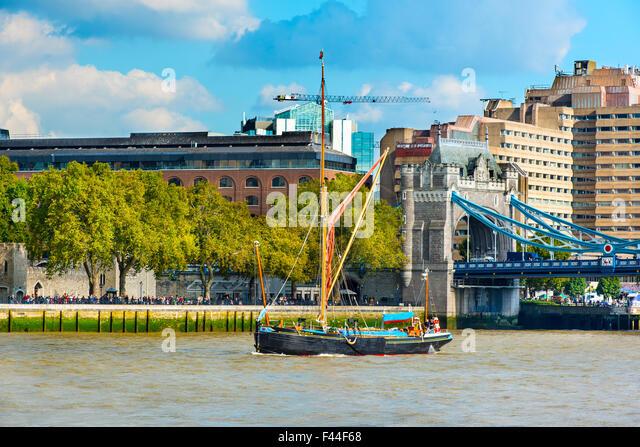 Thames Sailing Barge Stock Photos Thames Sailing Barge Stock Images Alamy