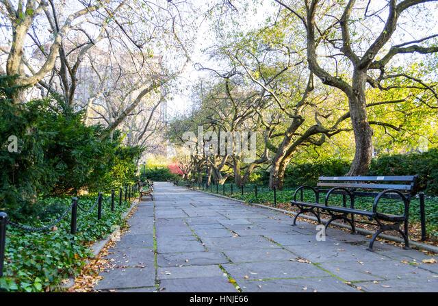 Central Park Conservatory Garden New York Stock Photos Central Park Conservatory Garden New