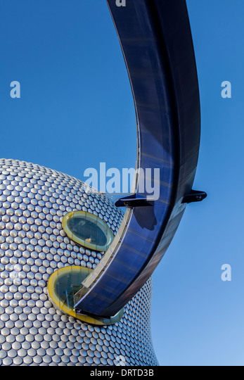 Bull Ring Elevated Walkway, Birmingham, West Midlands, England - Stock-Bilder
