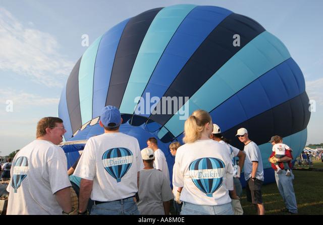 Alabama Decatur Alabama Jubilee Hot Air Balloon Classic - Stock Image